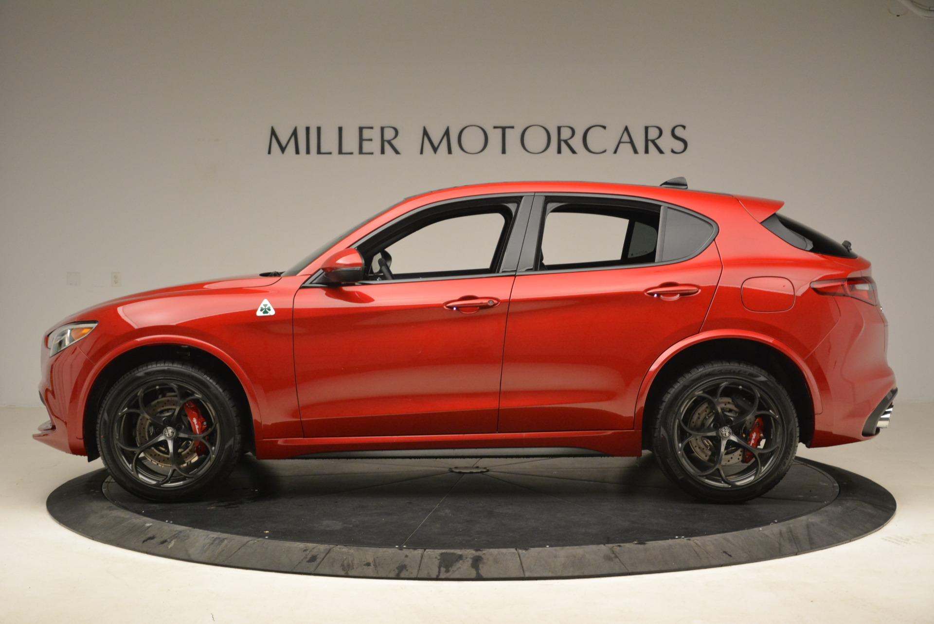 New 2018 Alfa Romeo Stelvio Quadrifoglio For Sale In Westport, CT 2251_p3