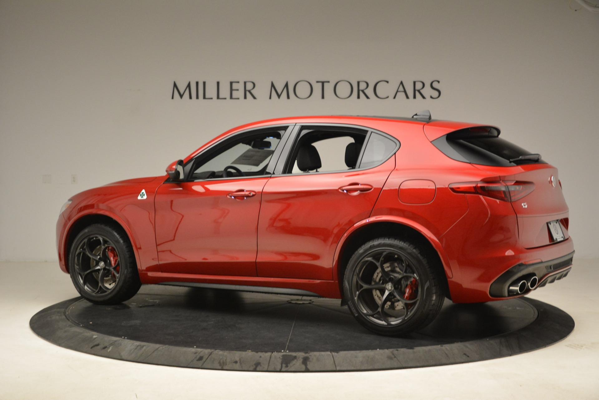 New 2018 Alfa Romeo Stelvio Quadrifoglio For Sale In Westport, CT 2251_p4