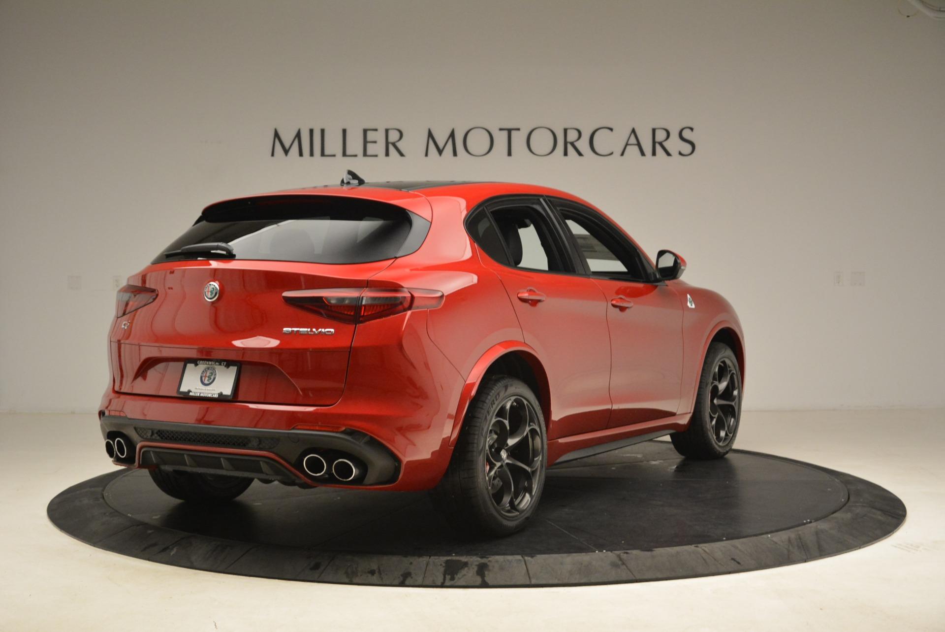 New 2018 Alfa Romeo Stelvio Quadrifoglio For Sale In Westport, CT 2251_p7