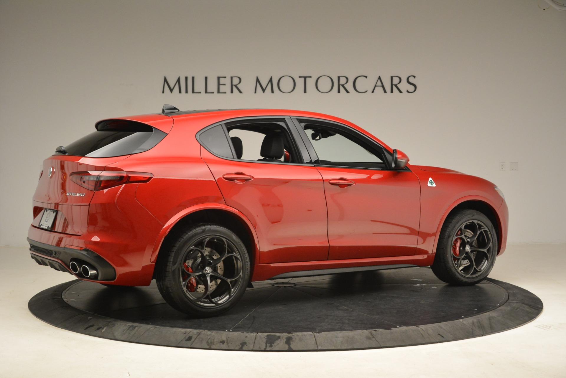 New 2018 Alfa Romeo Stelvio Quadrifoglio For Sale In Westport, CT 2251_p8