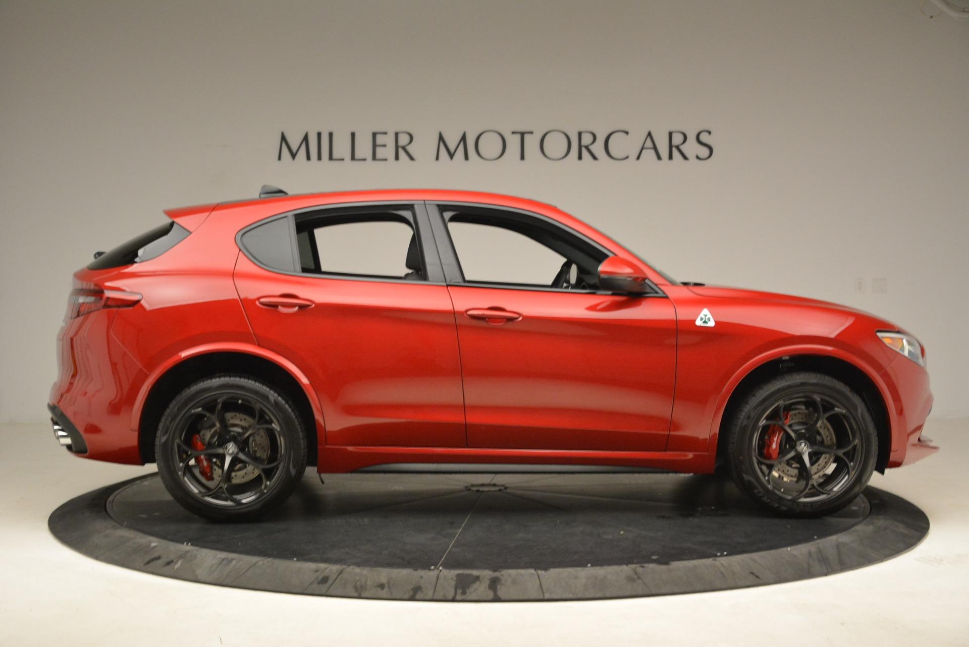 New 2018 Alfa Romeo Stelvio Quadrifoglio For Sale In Westport, CT 2251_p9
