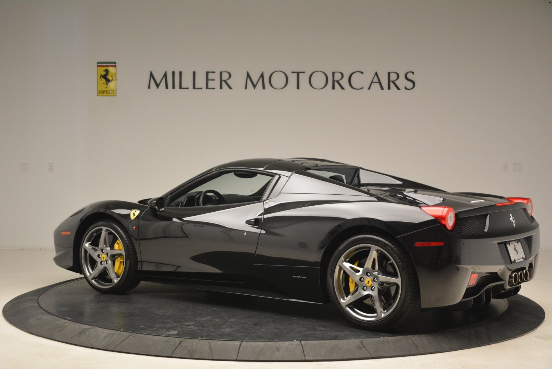 Used 2013 Ferrari 458 Spider  For Sale In Westport, CT 2257_p16