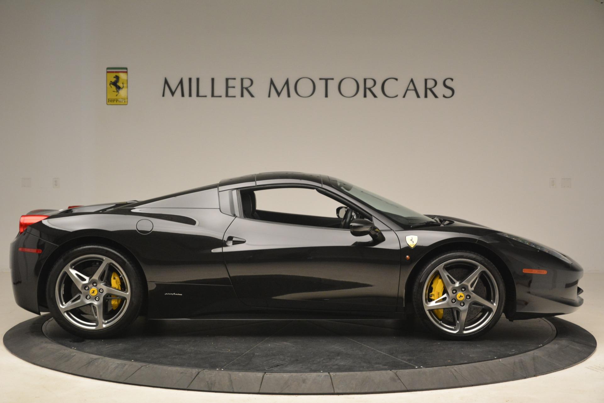 Used 2013 Ferrari 458 Spider  For Sale In Westport, CT 2257_p21