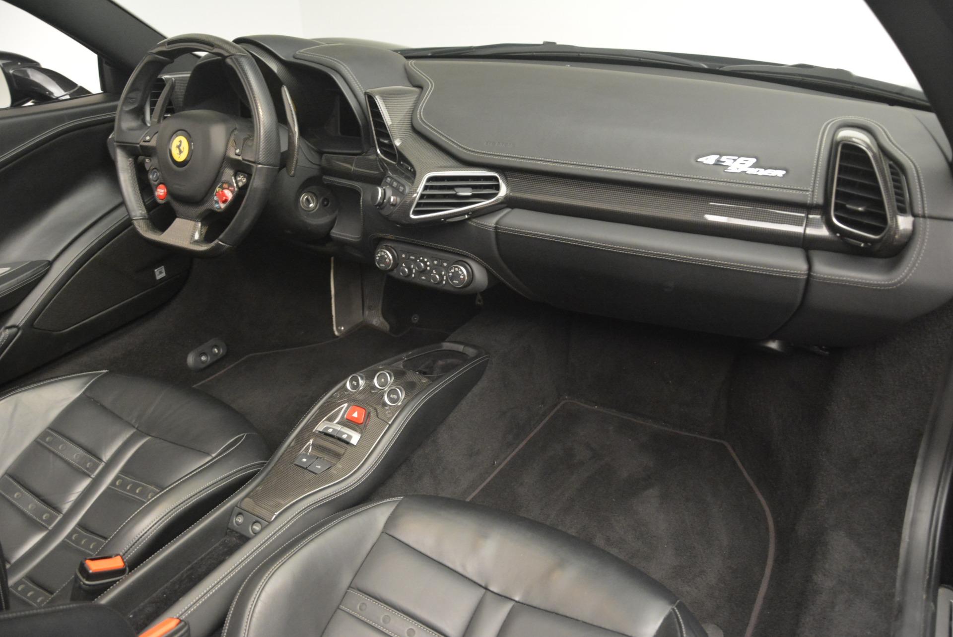 Used 2013 Ferrari 458 Spider  For Sale In Westport, CT 2257_p29