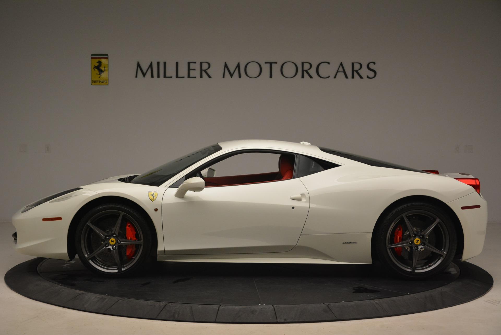 Used 2014 Ferrari 458 Italia  For Sale In Westport, CT 2260_p3