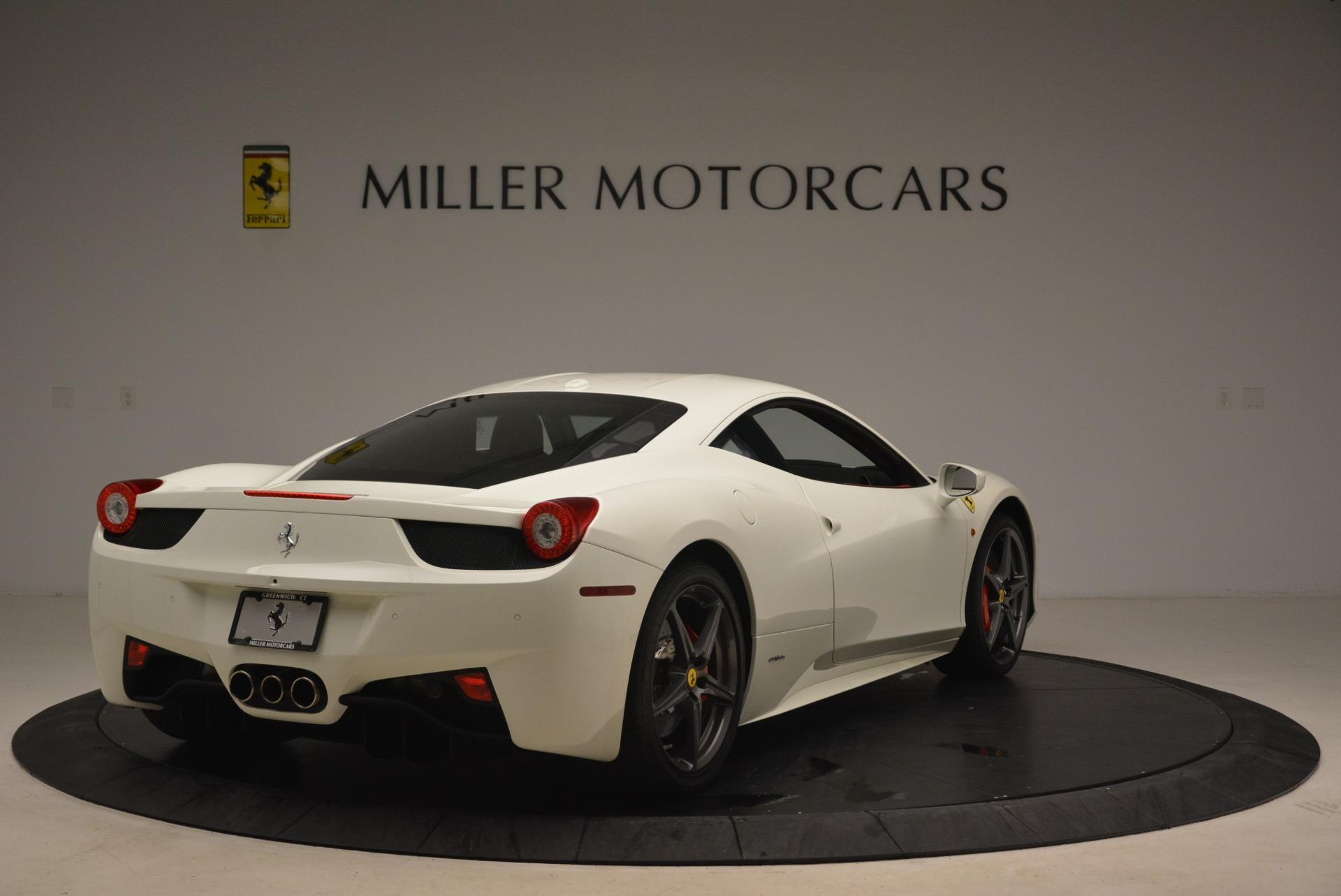Used 2014 Ferrari 458 Italia  For Sale In Westport, CT 2260_p7