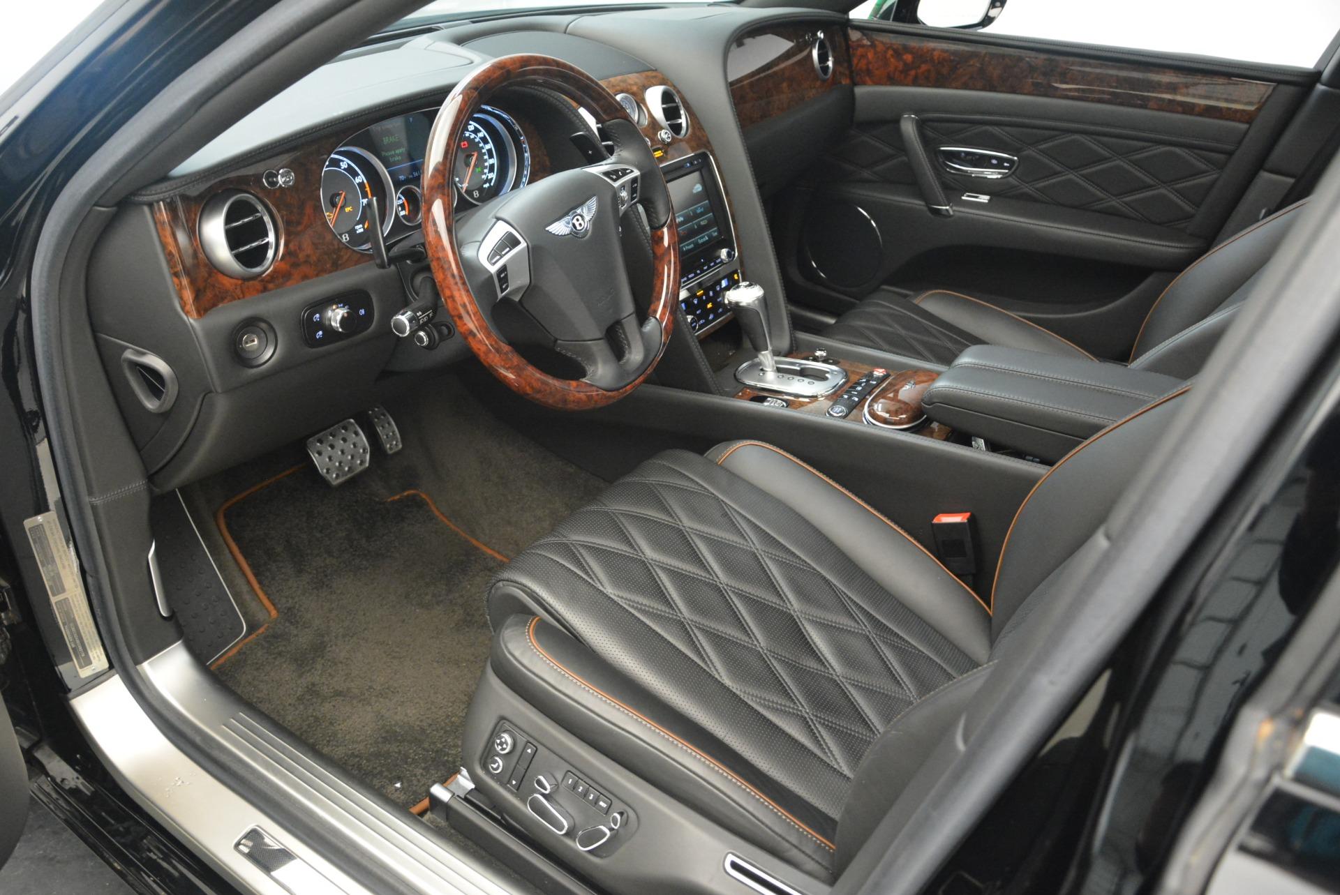 Used 2014 Bentley Flying Spur W12 For Sale In Westport, CT 2267_p17