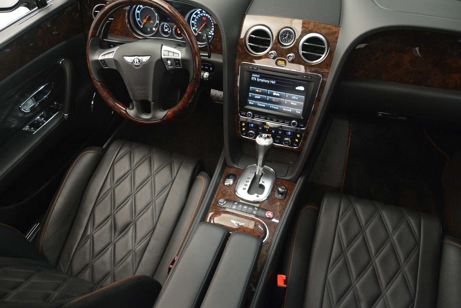 Used 2014 Bentley Flying Spur W12 For Sale In Westport, CT 2267_p21