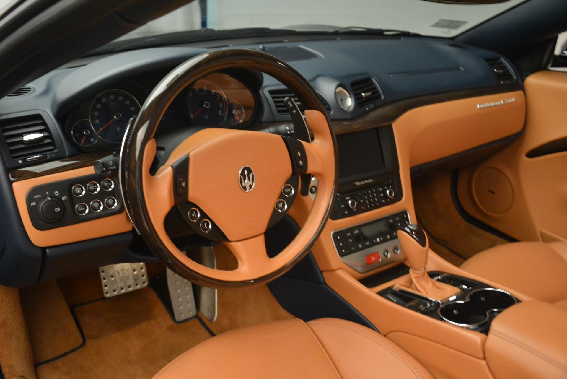 Used 2014 Maserati GranTurismo Sport For Sale In Westport, CT 2269_p23