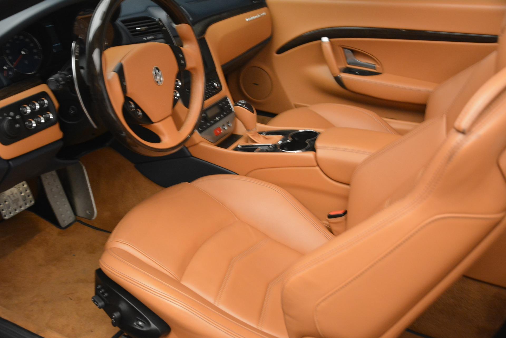 Used 2014 Maserati GranTurismo Sport For Sale In Westport, CT 2269_p24