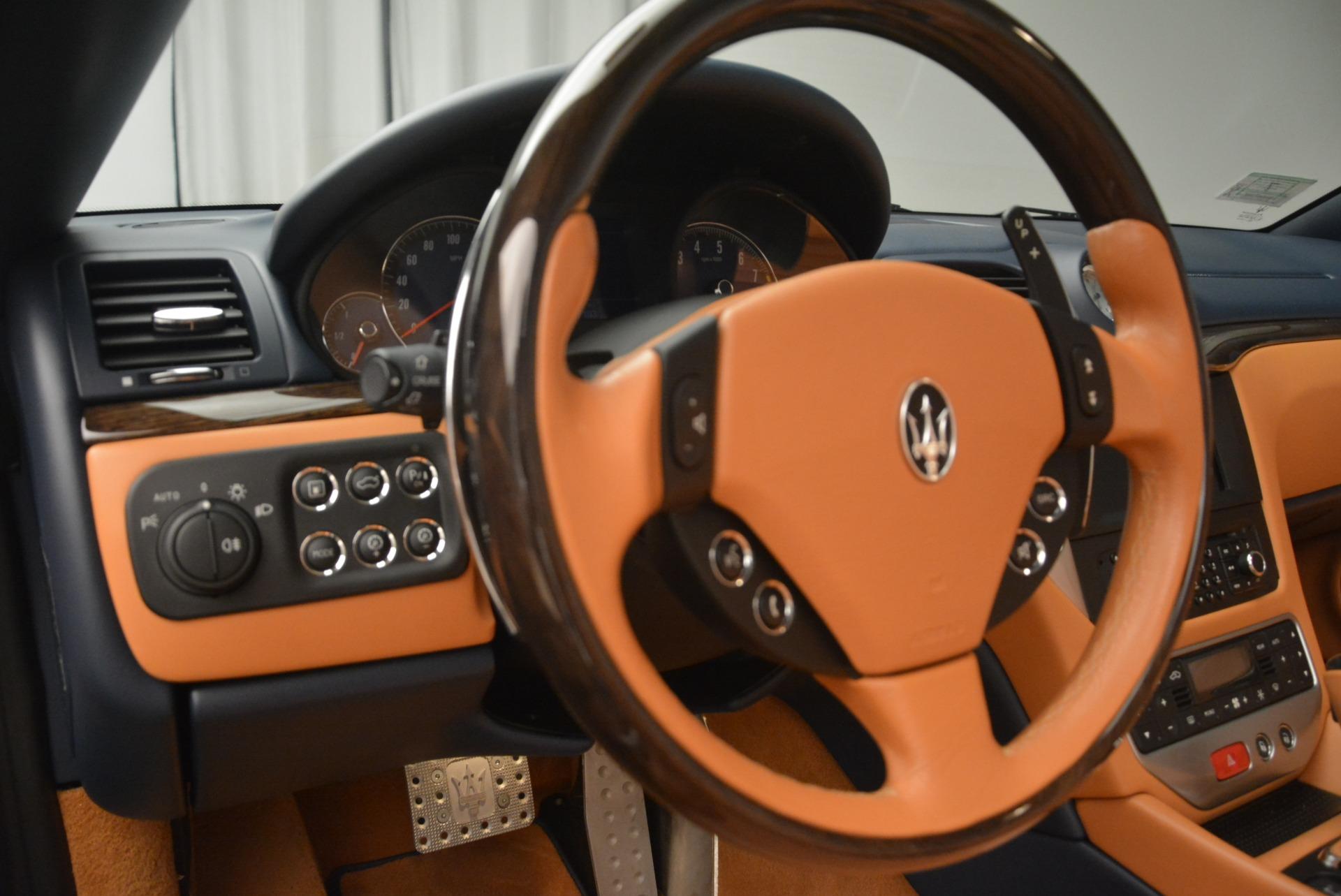 Used 2014 Maserati GranTurismo Sport For Sale In Westport, CT 2269_p26