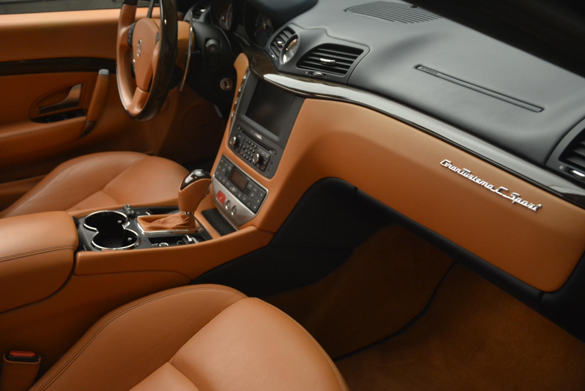 Used 2014 Maserati GranTurismo Sport For Sale In Westport, CT 2269_p28