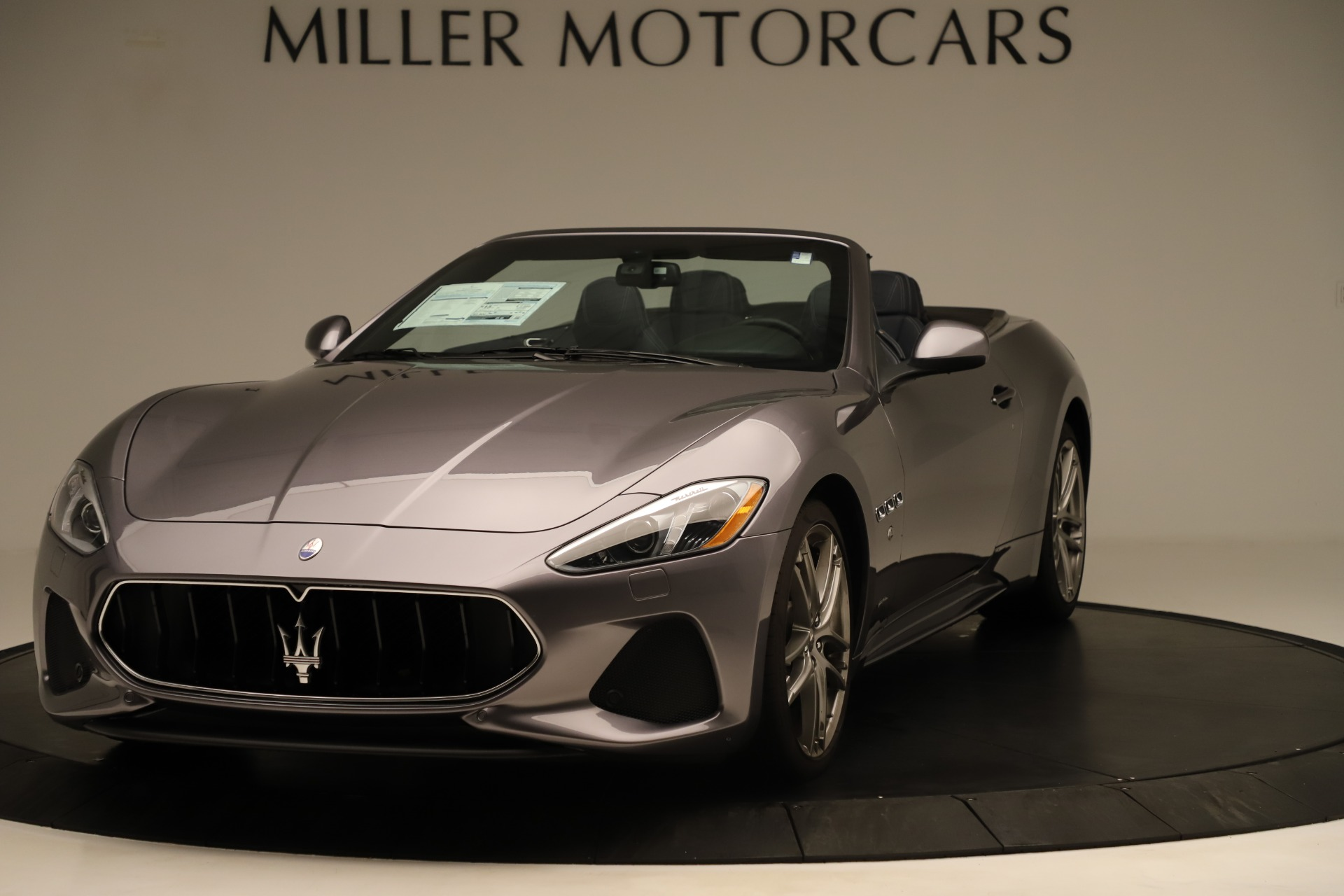New 2018 Maserati GranTurismo Sport Convertible For Sale In Westport, CT 2272_main