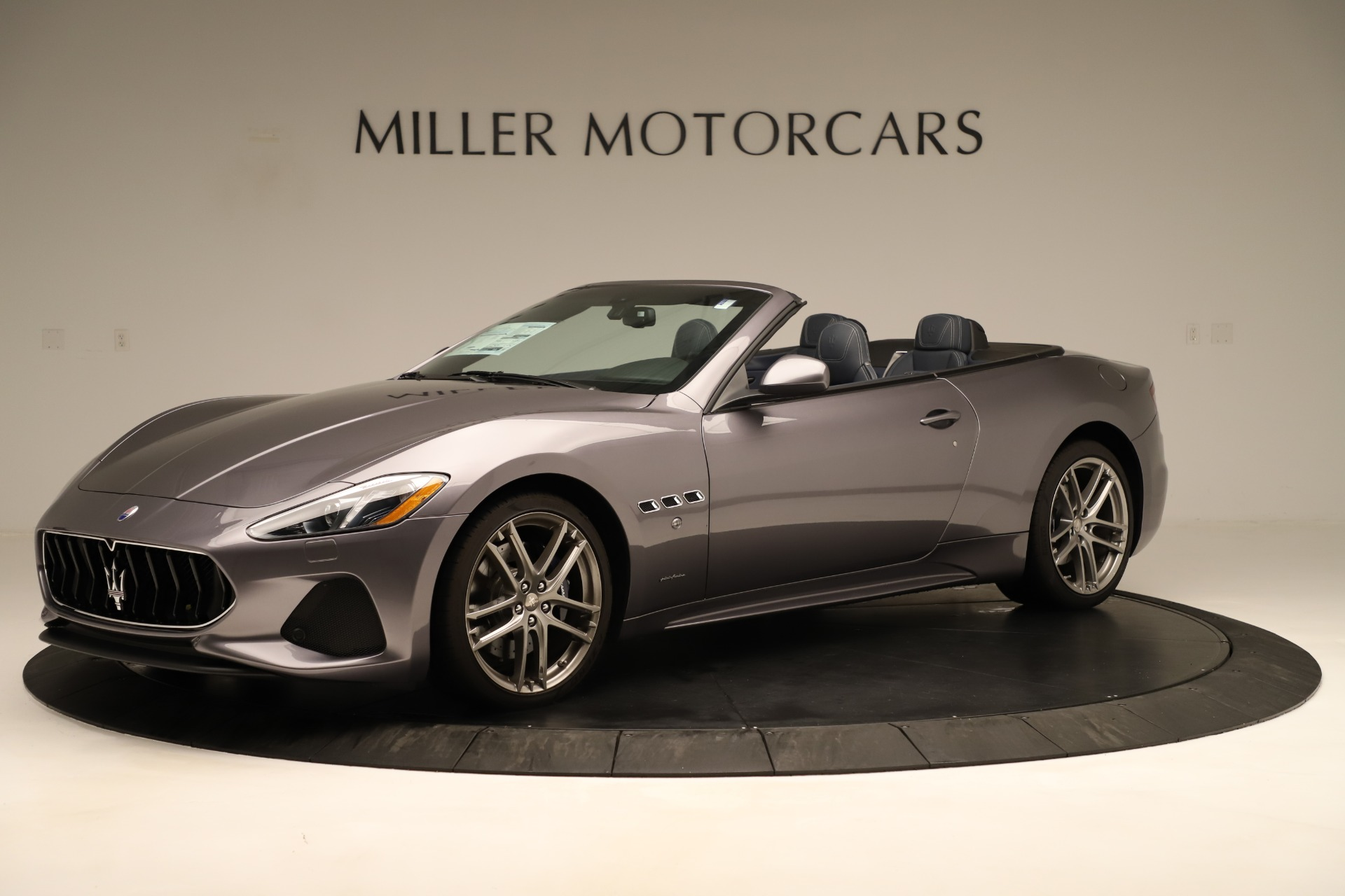 New 2018 Maserati GranTurismo Sport Convertible For Sale In Westport, CT 2272_p3