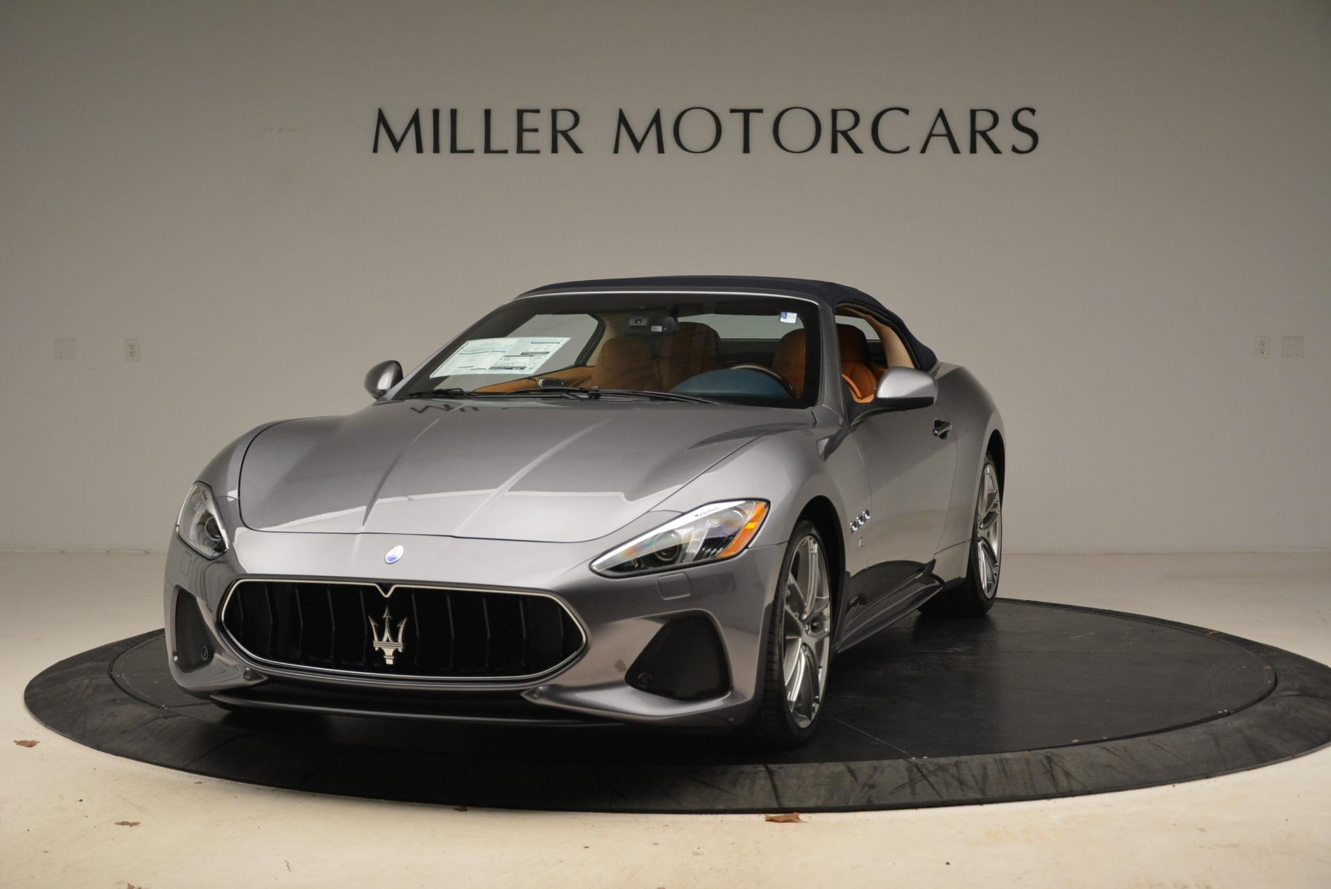 New 2018 Maserati GranTurismo Sport Convertible For Sale In Westport, CT 2276_main