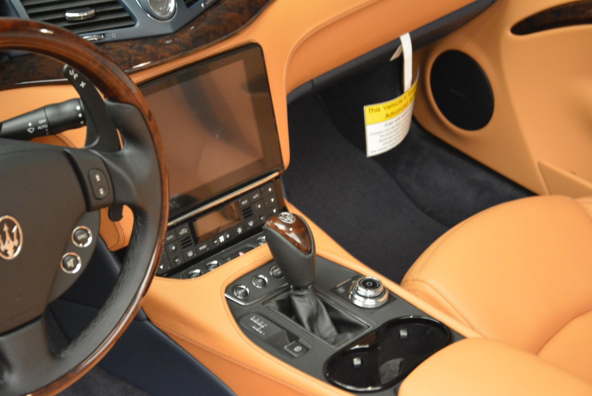 New 2018 Maserati GranTurismo Sport Convertible For Sale In Westport, CT 2276_p13