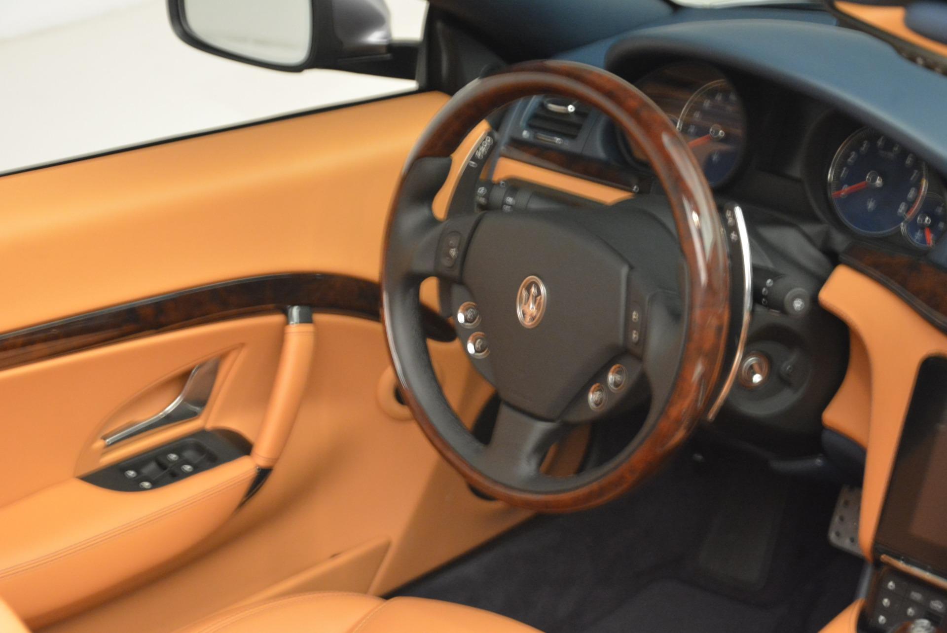 New 2018 Maserati GranTurismo Sport Convertible For Sale In Westport, CT 2276_p15