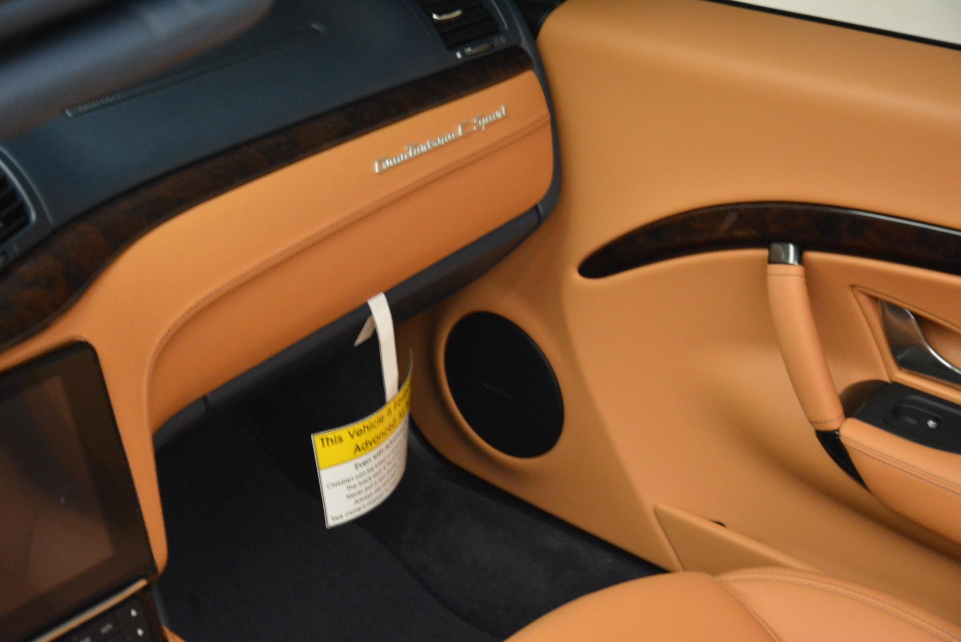 New 2018 Maserati GranTurismo Sport Convertible For Sale In Westport, CT 2276_p17