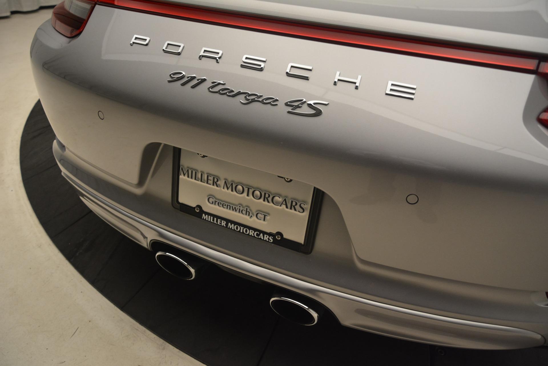 Used 2017 Porsche 911 Targa 4S For Sale In Westport, CT 2282_p28