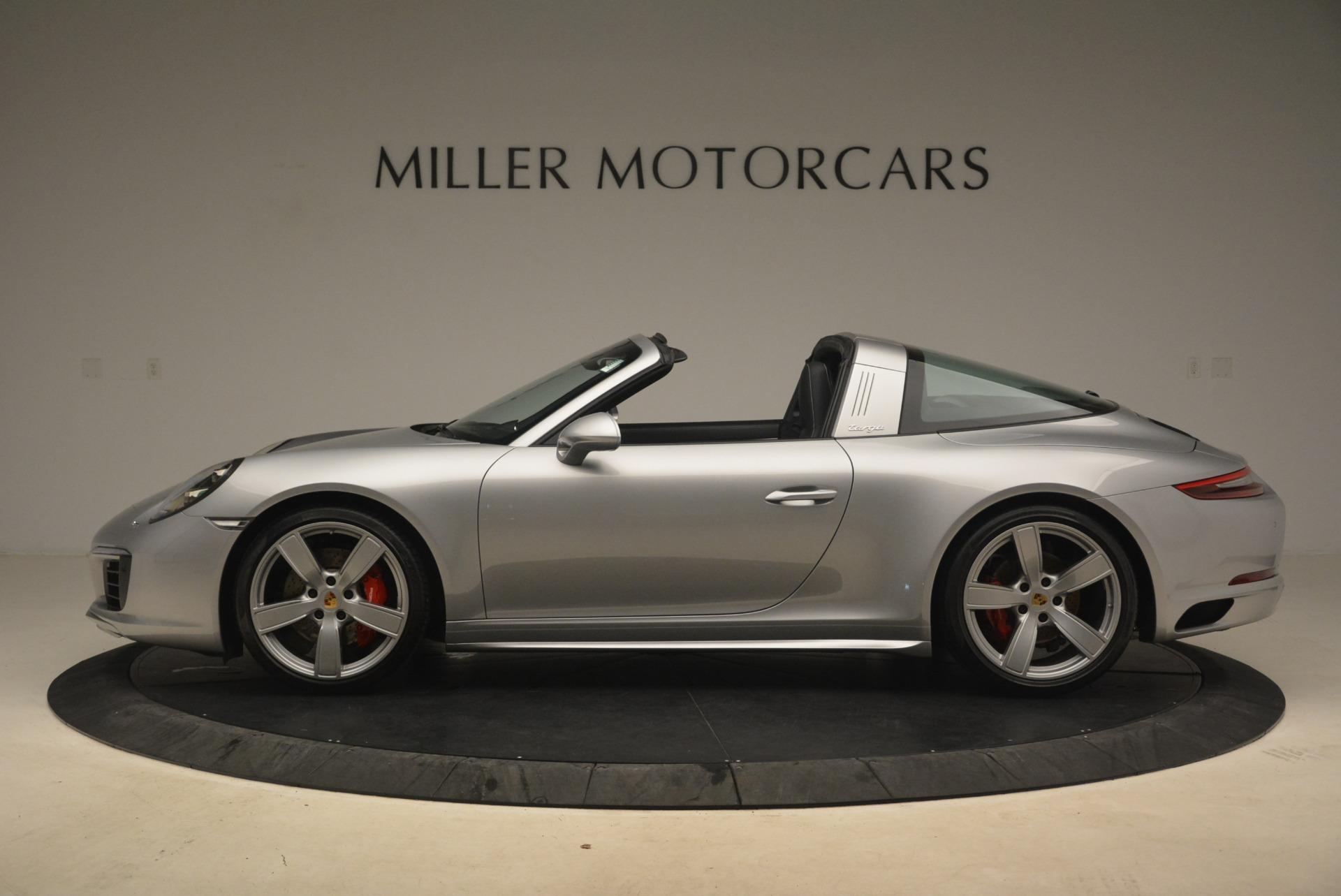 Used 2017 Porsche 911 Targa 4S For Sale In Westport, CT 2282_p3