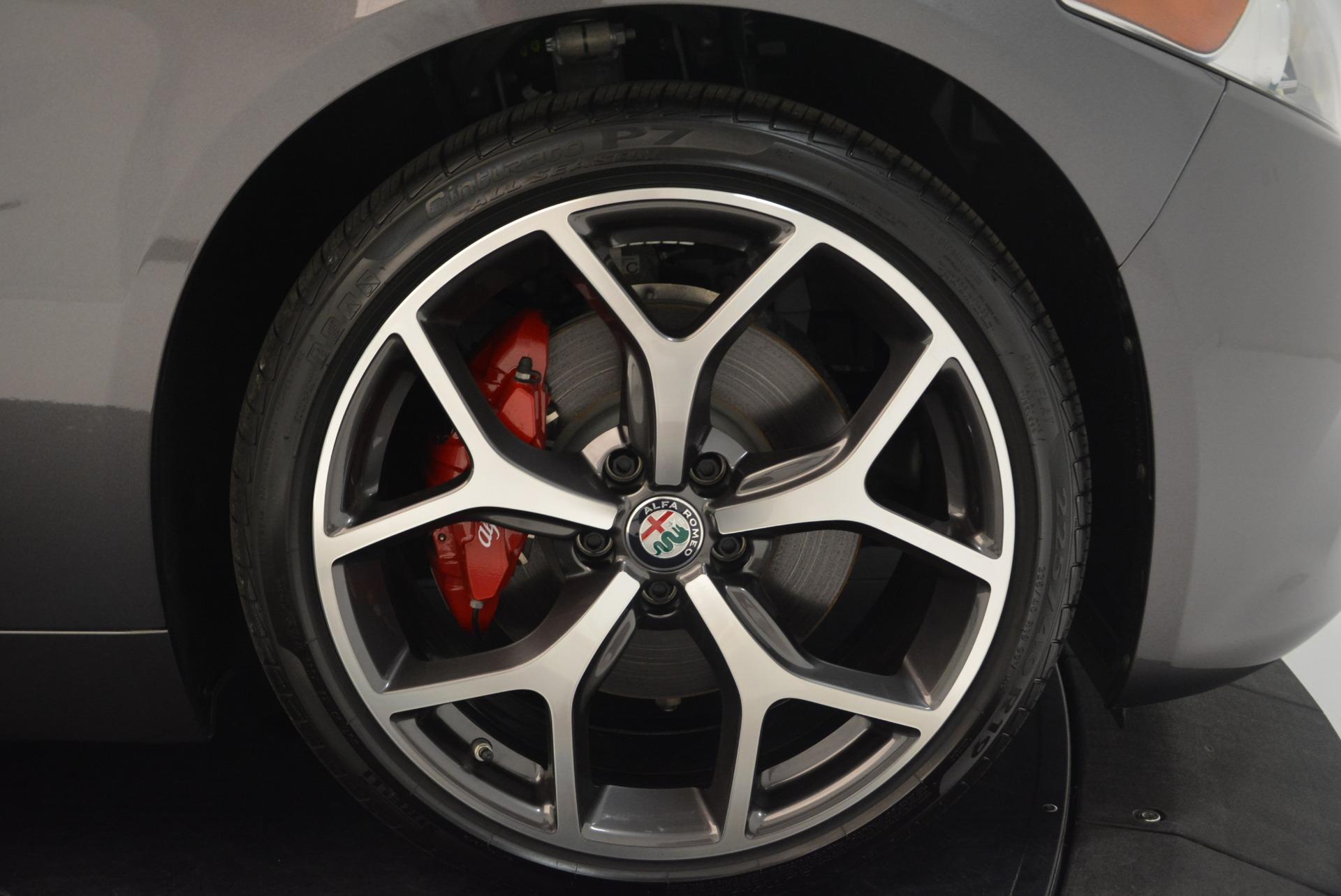 New 2018 Alfa Romeo Giulia Ti Sport Q4 For Sale In Westport, CT 2283_p25