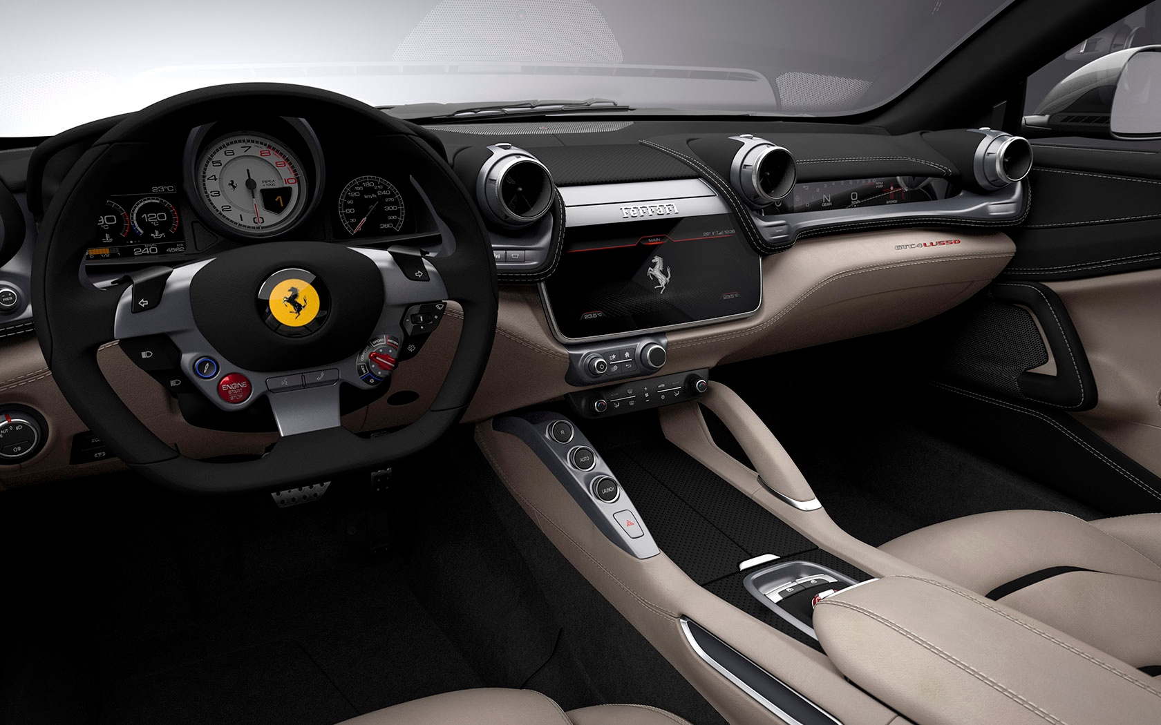 New 2019 Ferrari GTC4LUSSO  For Sale In Westport, CT 229_p9