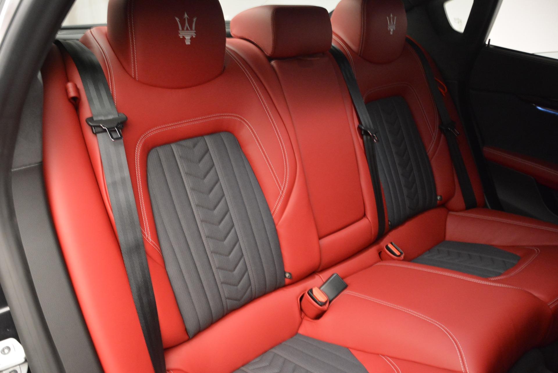 New 2018 Maserati Quattroporte S Q4 GranLusso For Sale In Westport, CT 2296_p25