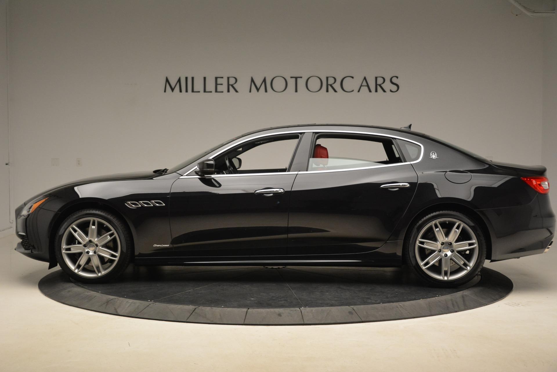 New 2018 Maserati Quattroporte S Q4 GranLusso For Sale In Westport, CT 2296_p3