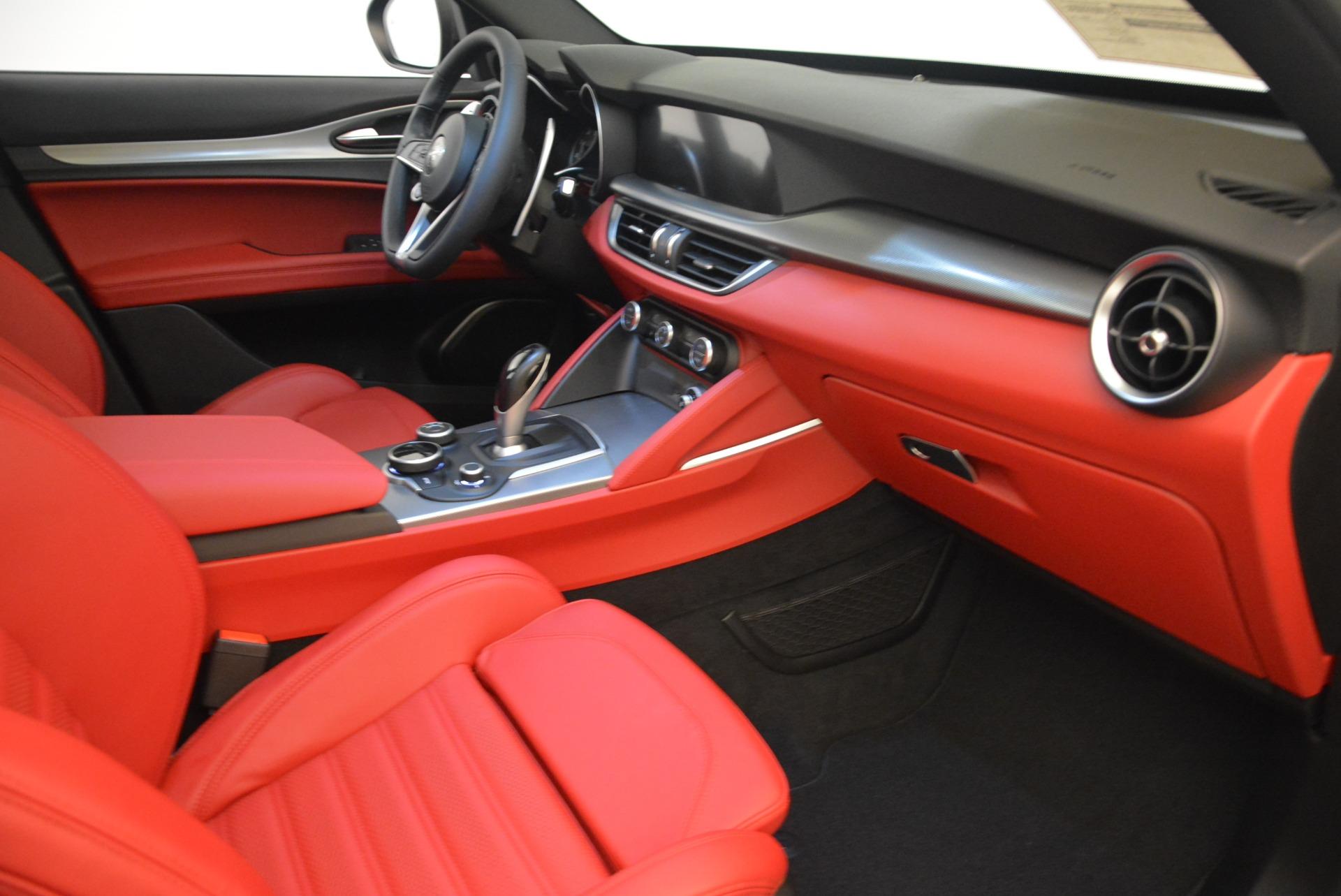 New 2018 Alfa Romeo Stelvio Ti Sport Q4 For Sale In Westport, CT 2301_p18