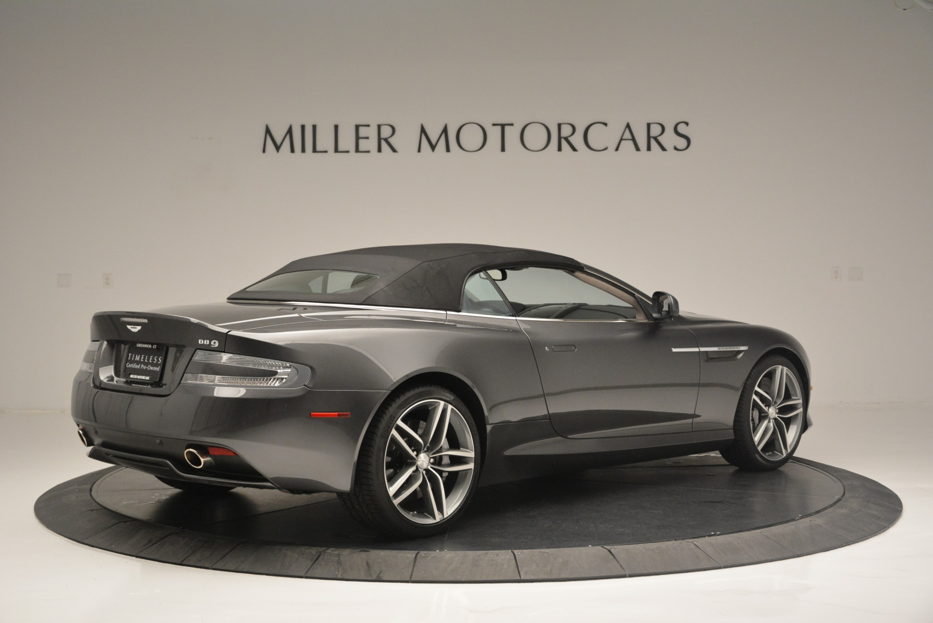 Used 2014 Aston Martin DB9 Volante For Sale In Westport, CT 2319_p20