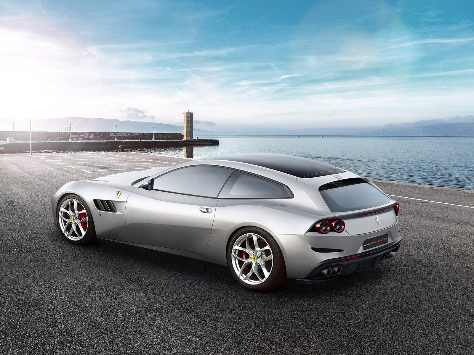 New 2019 Ferrari GTC4LUSSO T  For Sale In Westport, CT 232_p2