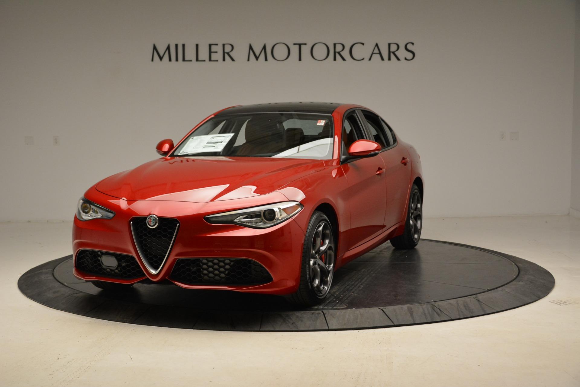 New 2018 Alfa Romeo Giulia Ti Sport Q4 For Sale In Westport, CT 2328_main