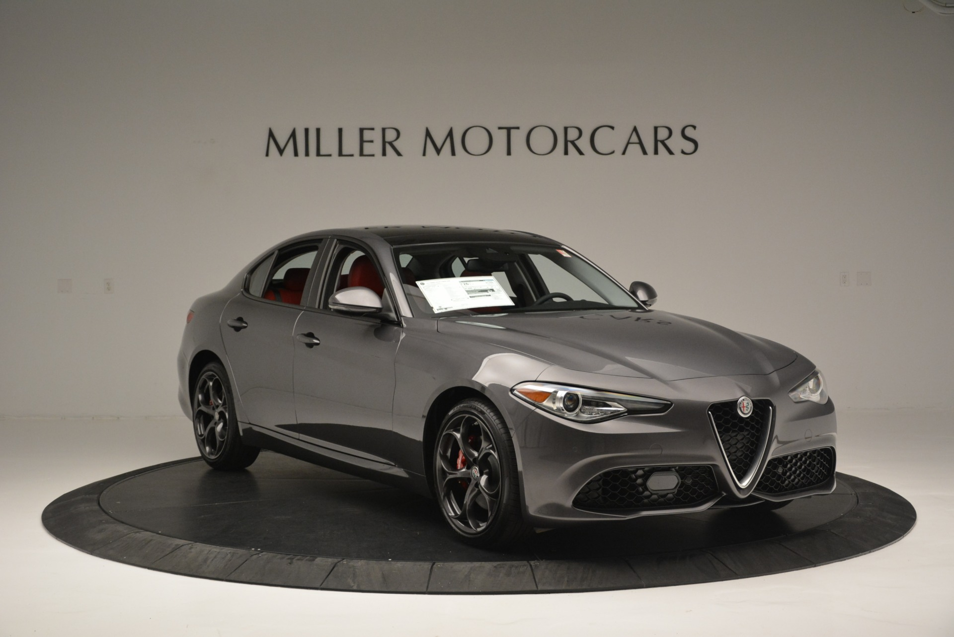New 2018 Alfa Romeo Giulia Ti Sport Q4 For Sale In Westport, CT 2332_p11