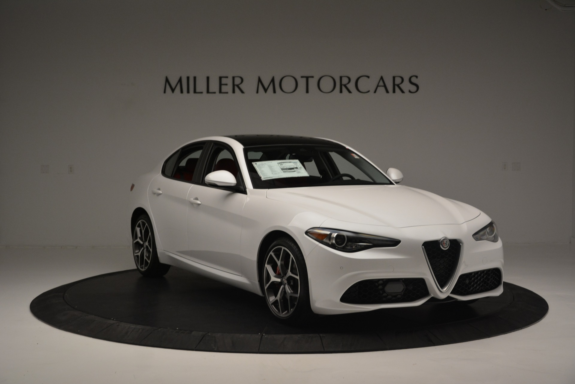 New 2018 Alfa Romeo Giulia Ti Sport Q4 For Sale In Westport, CT 2336_p11