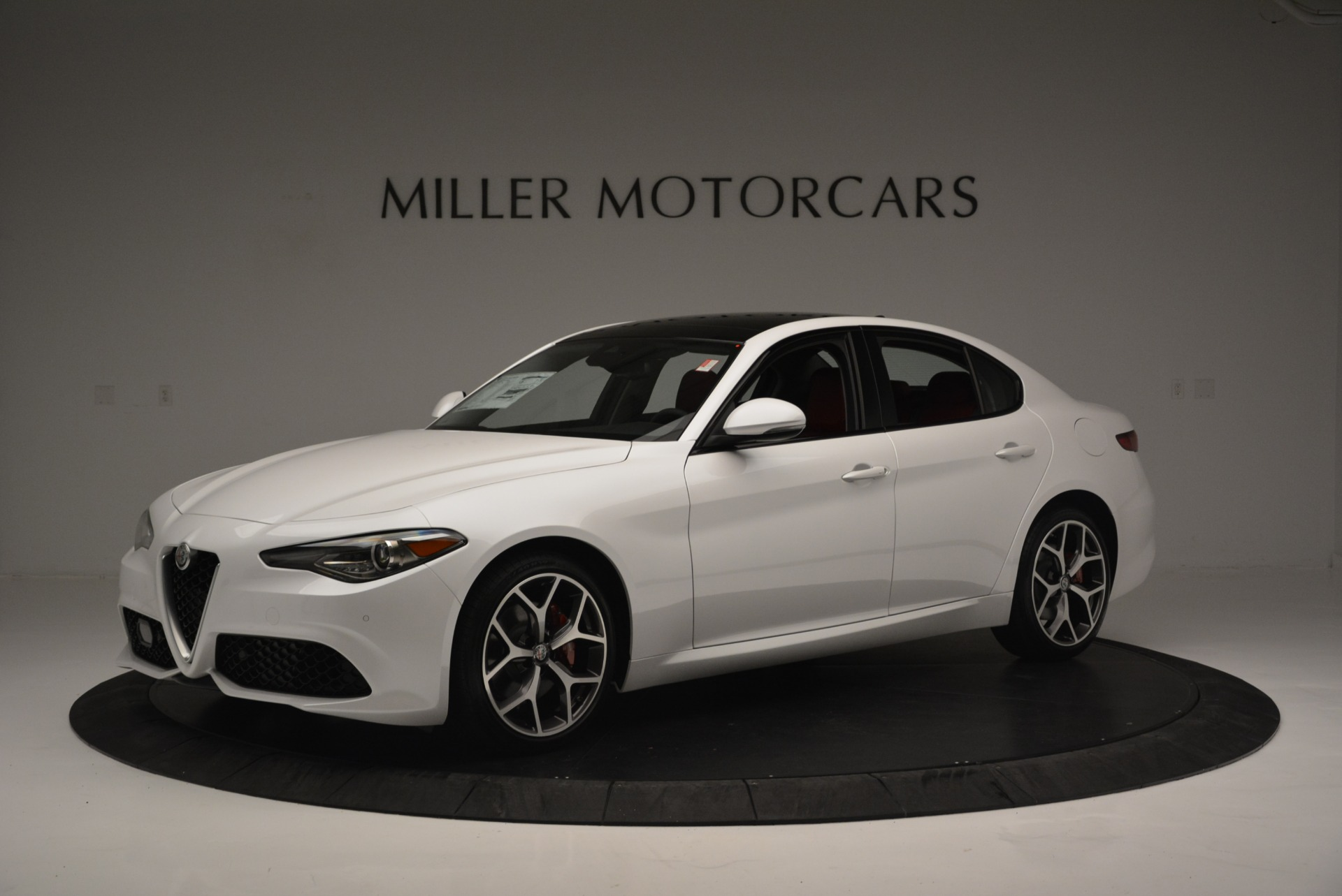 New 2018 Alfa Romeo Giulia Ti Sport Q4 For Sale In Westport, CT 2336_p2