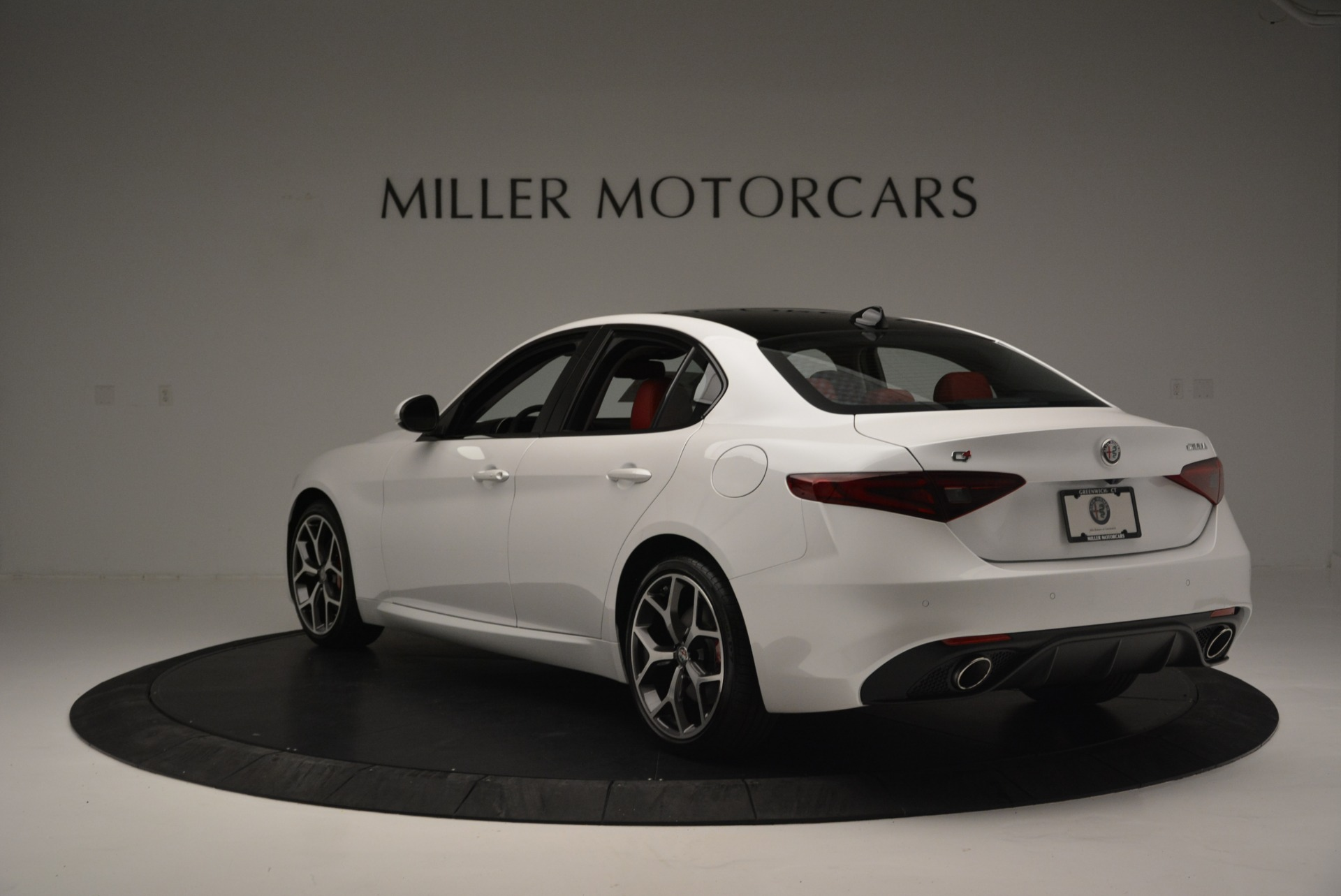 New 2018 Alfa Romeo Giulia Ti Sport Q4 For Sale In Westport, CT 2336_p5