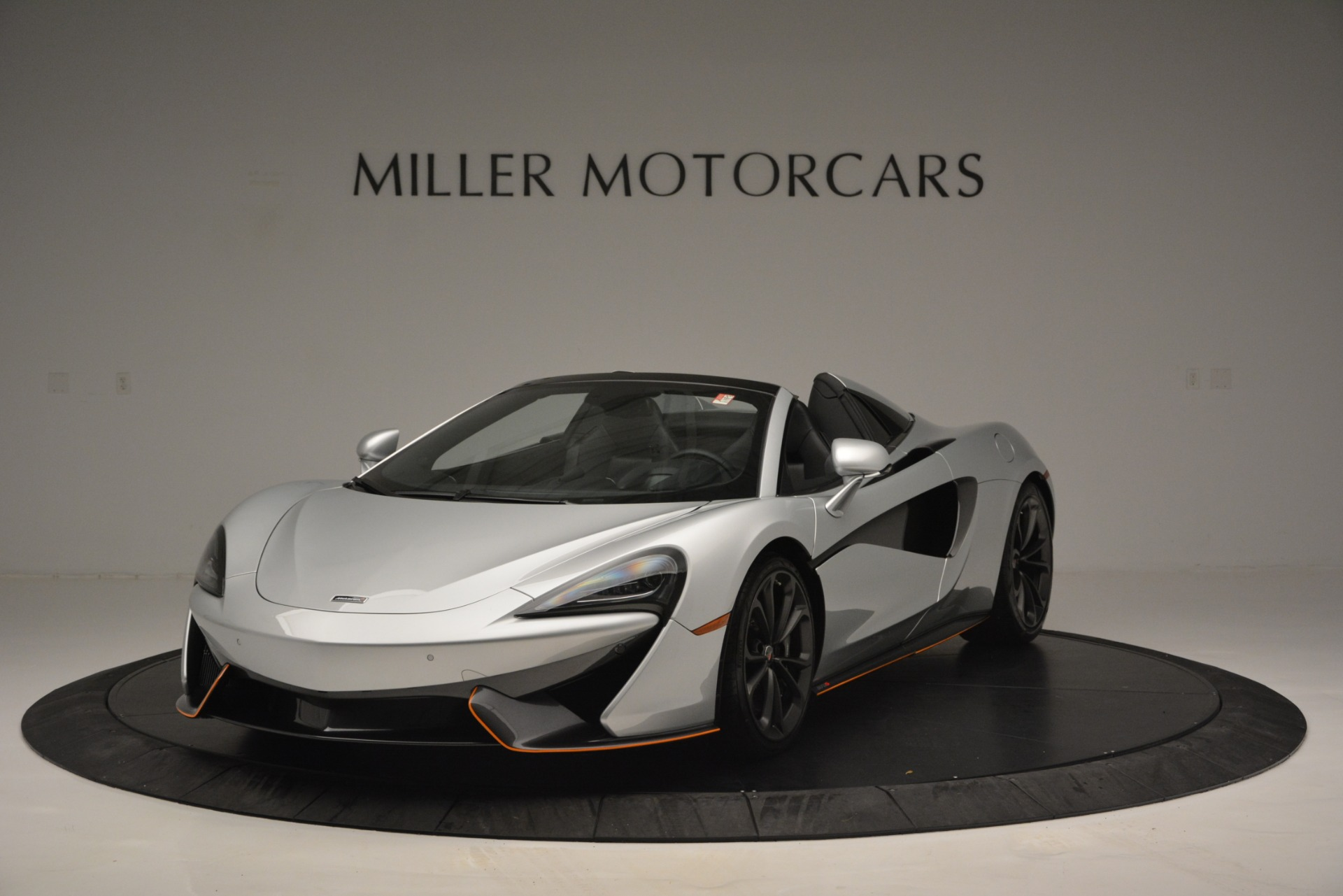 Used 2018 McLaren 570S Spider For Sale In Westport, CT 2340_main