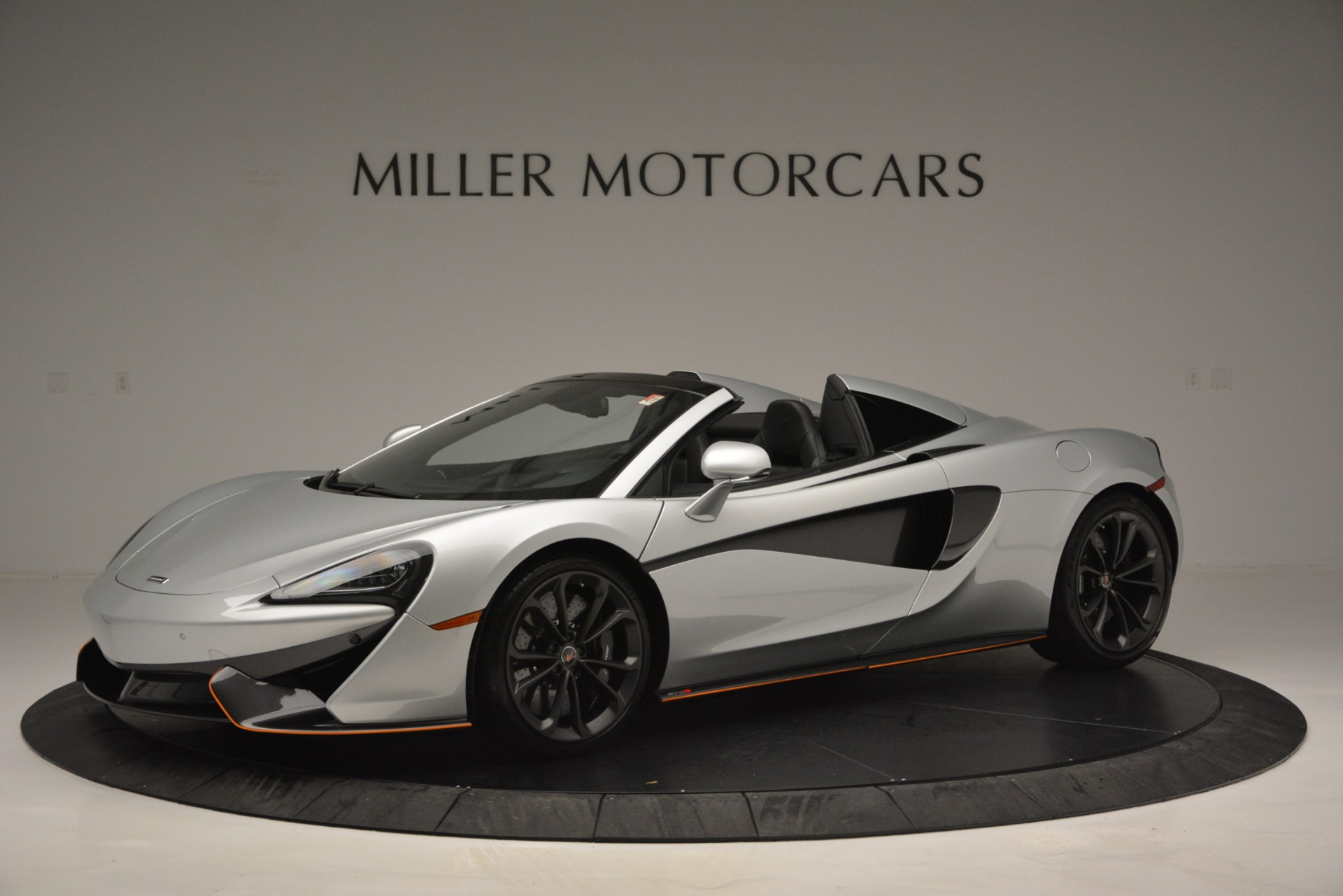 Used 2018 McLaren 570S Spider For Sale In Westport, CT 2340_p2