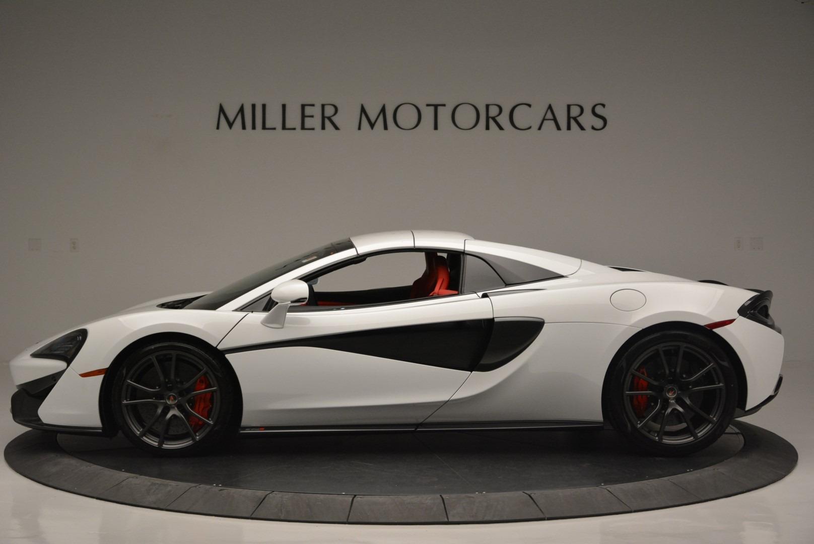 Used 2018 McLaren 570S Spider For Sale In Westport, CT 2341_p15