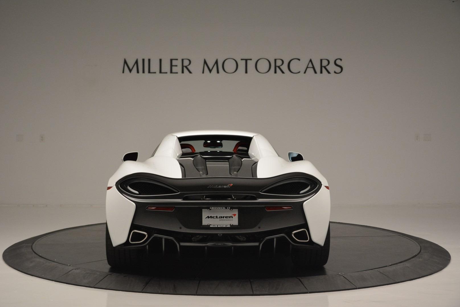 Used 2018 McLaren 570S Spider For Sale In Westport, CT 2341_p17