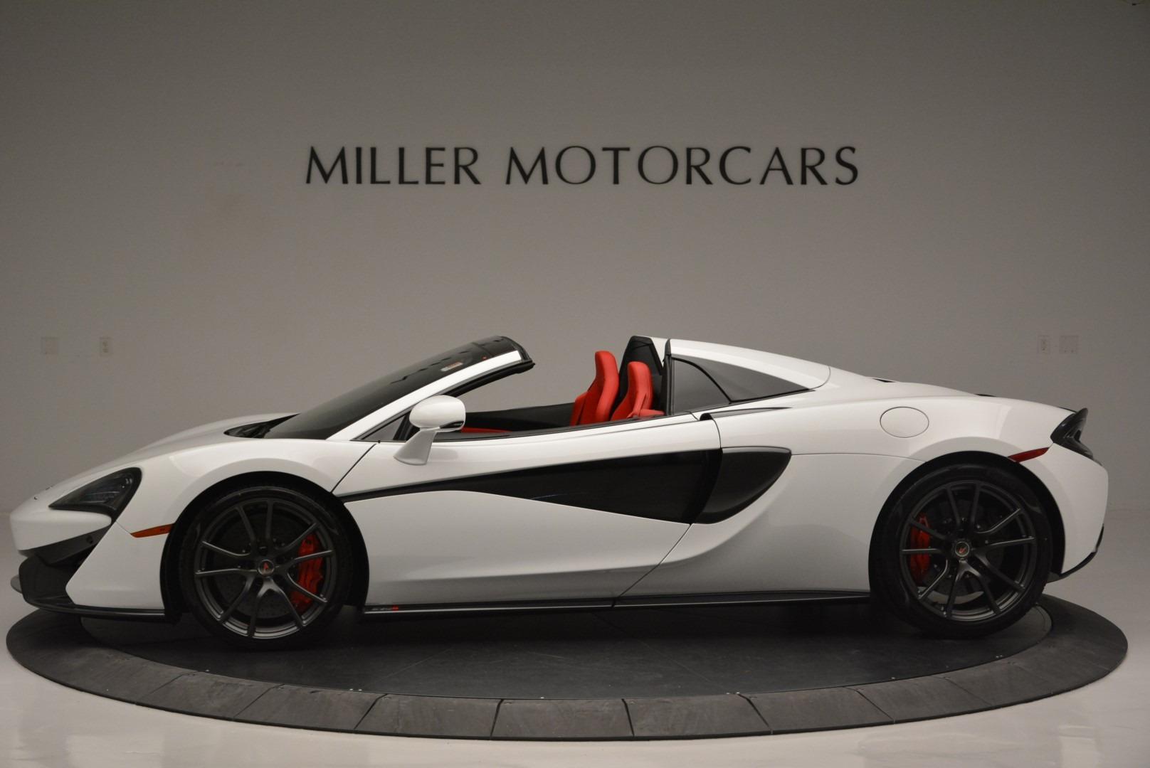 Used 2018 McLaren 570S Spider For Sale In Westport, CT 2341_p3