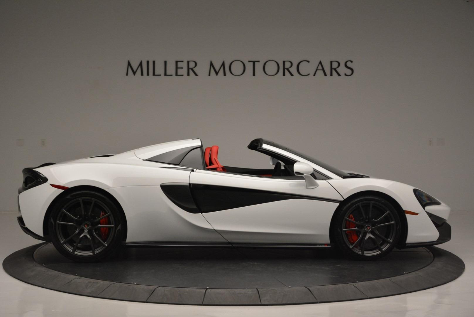 Used 2018 McLaren 570S Spider For Sale In Westport, CT 2341_p9