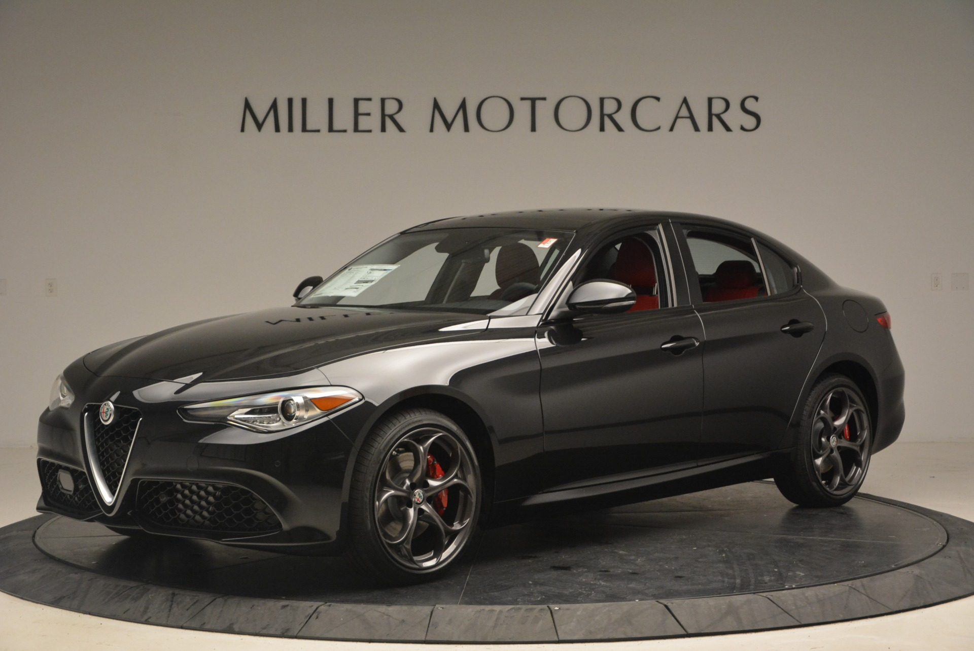 New 2018 Alfa Romeo Giulia Ti Sport Q4 For Sale In Westport, CT 2347_p2