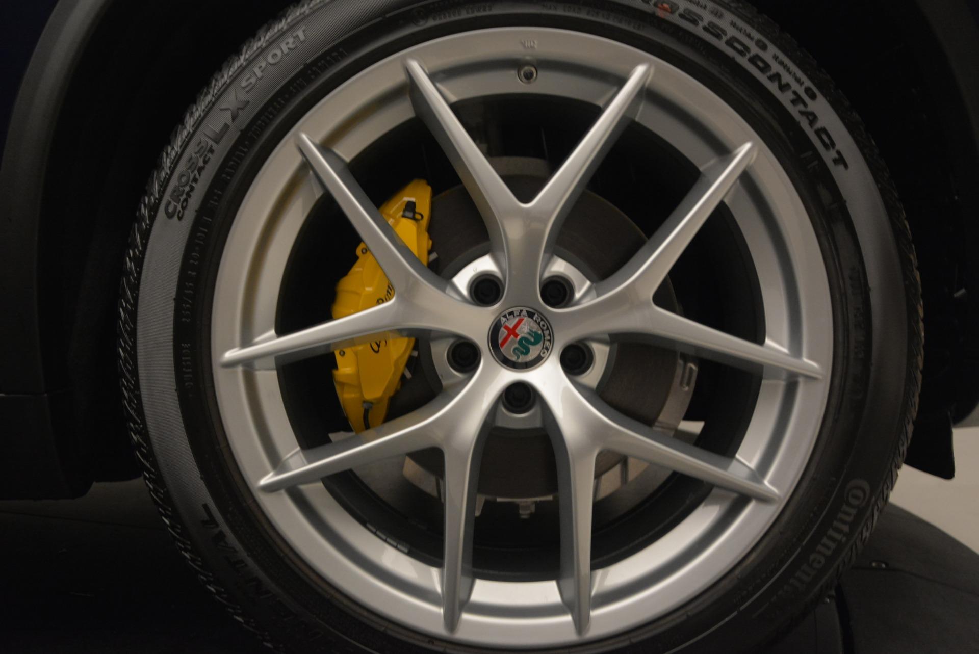 New 2018 Alfa Romeo Stelvio Ti Q4 For Sale In Westport, CT 2349_p26