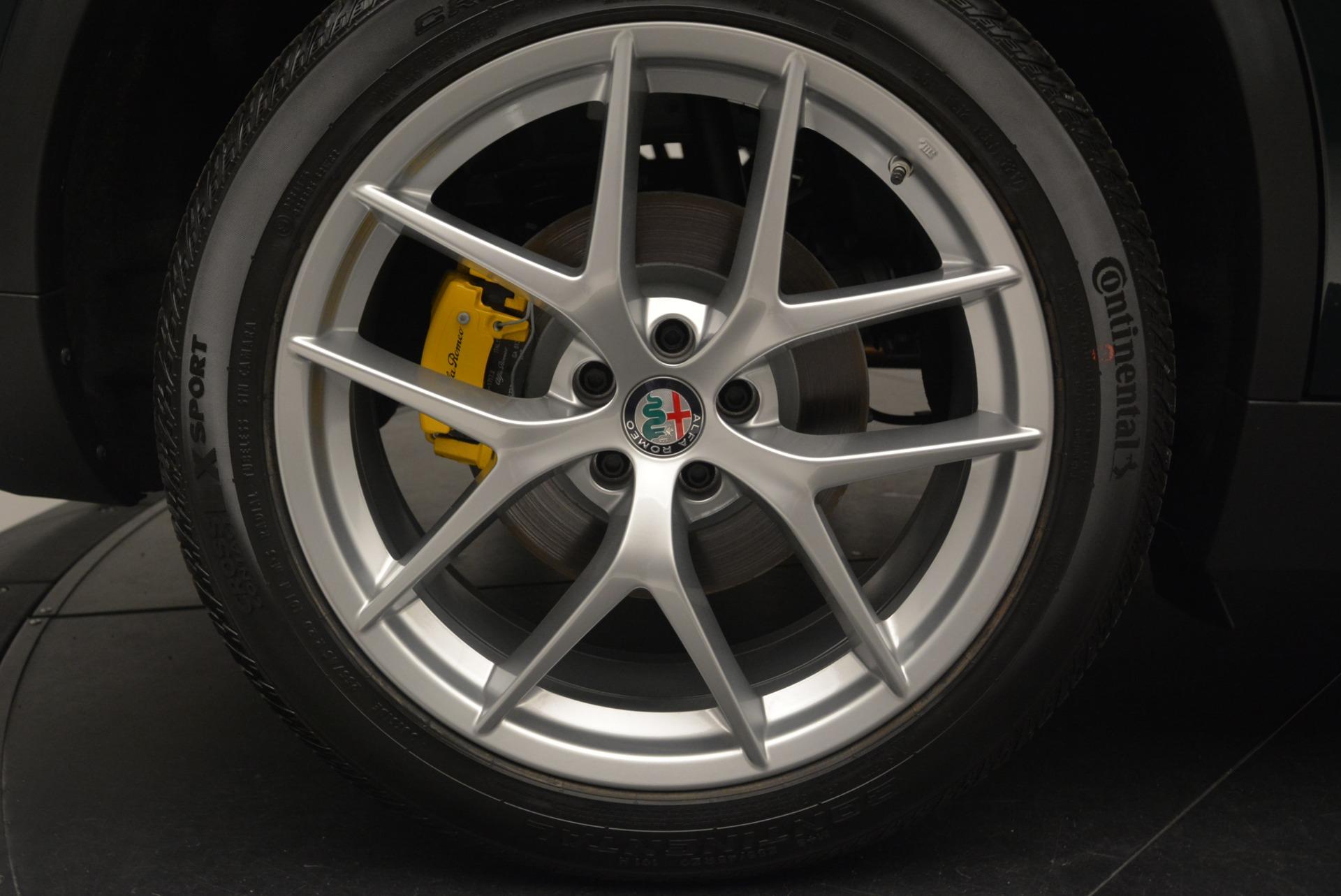 New 2018 Alfa Romeo Stelvio Ti Sport Q4 For Sale In Westport, CT 2353_p29