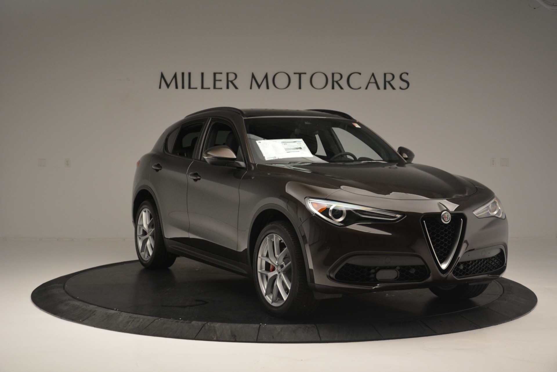 New 2018 Alfa Romeo Stelvio Ti Sport Q4 For Sale In Westport, CT 2354_p11
