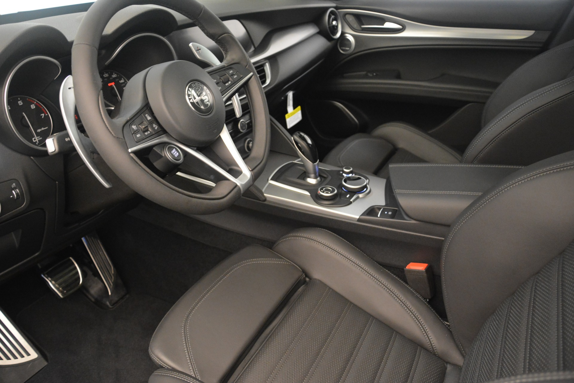 New 2018 Alfa Romeo Stelvio Ti Sport Q4 For Sale In Westport, CT 2354_p13