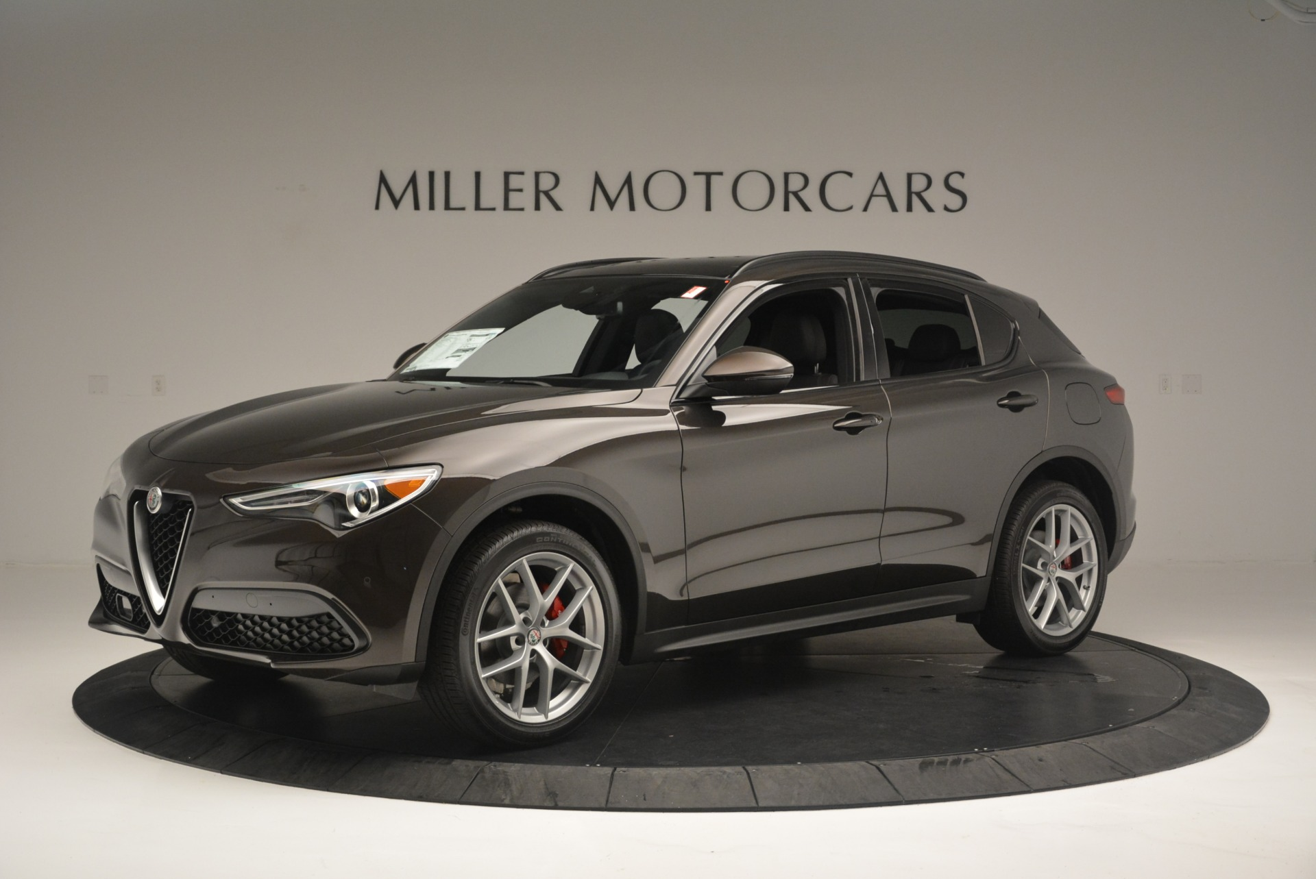 New 2018 Alfa Romeo Stelvio Ti Sport Q4 For Sale In Westport, CT 2354_p2