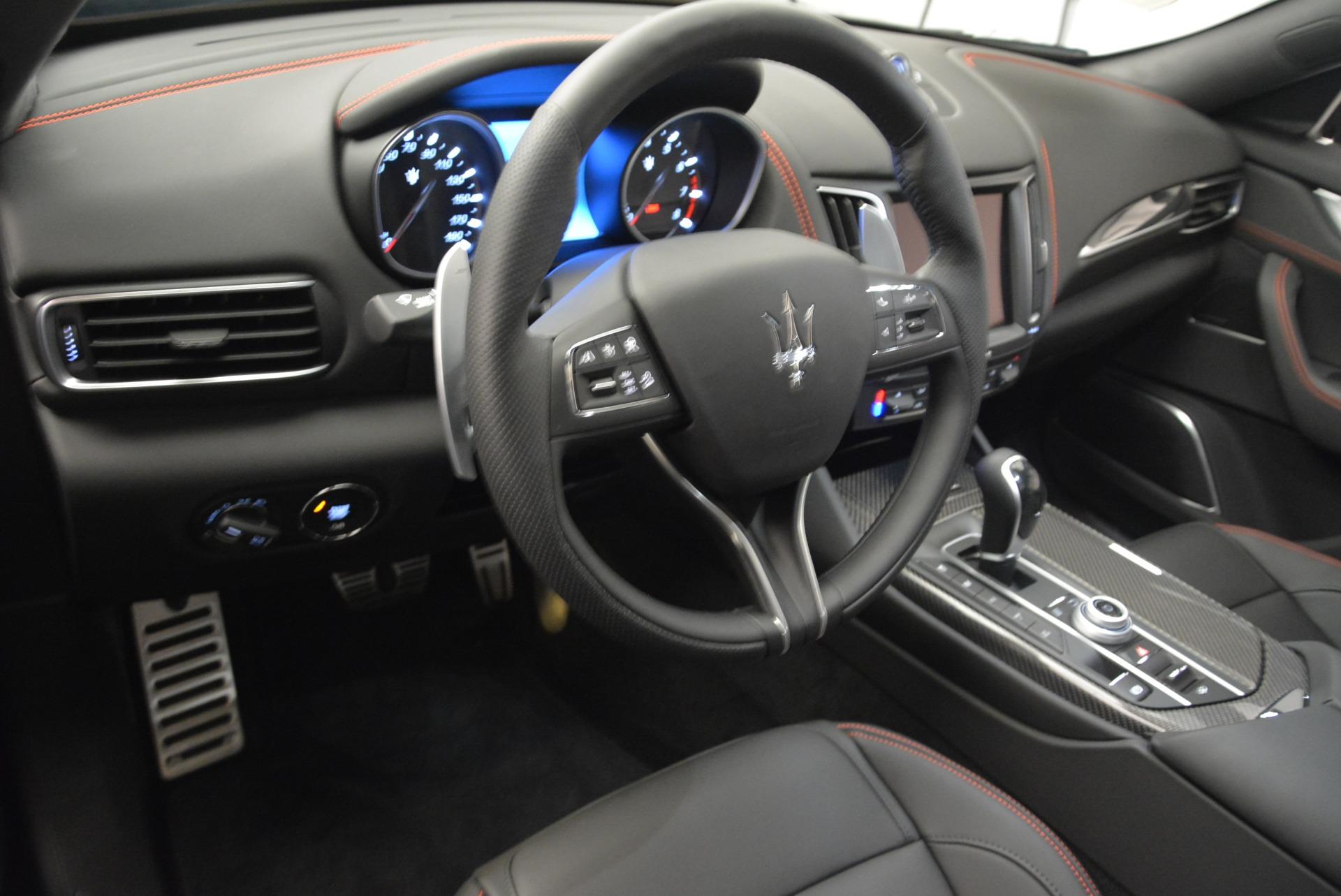 New 2018 Maserati Levante S Q4 GranSport Nerissimo For Sale In Westport, CT 2363_p13