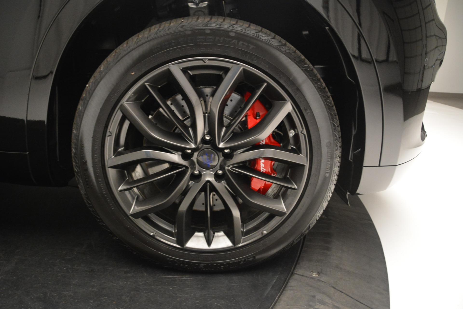 New 2018 Maserati Levante S Q4 GranSport Nerissimo For Sale In Westport, CT 2363_p25
